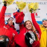 Елена Никитина завоевала золотую медаль на IV этапе Кубка Мира по скелетону