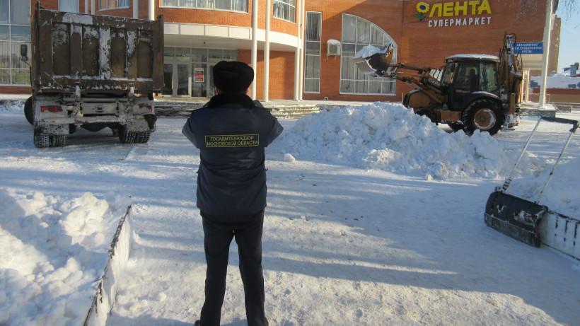 Госадмтехнадзор привел в порядок фасады нежилых зданий в 21 округе Подмосковья в январе