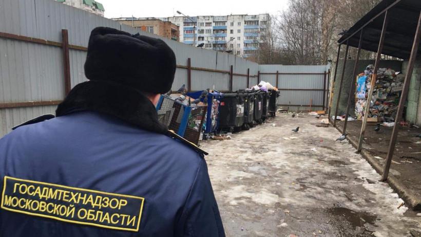 Госадмтехнадзор устранил 40 нарушений порядка на контейнерных площадках за неделю