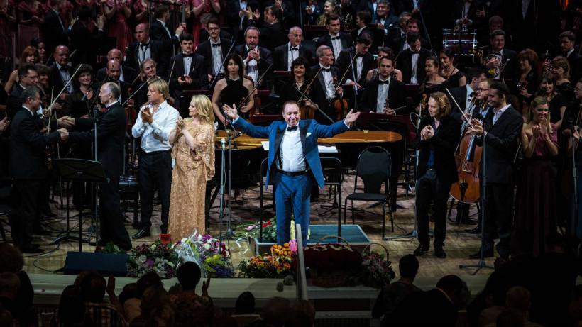 Художественный руководитель Московской областной филармонии Максим Дунаевский отмечает юбилей