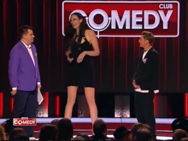 """""""Как хоббиты"""": """"самые длинные ноги России"""" опозорили Харламова и Волю в Comedy Club"""