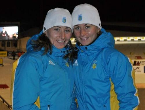 Валентина и Вита Семеренко, 34 года, Украина, биатлон Сестры-близняшки из Сумской области были в составе украинской эстафетной команды, выигравшей золото на Олимпиаде-2014 в Сочи.