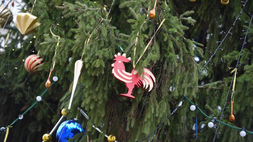 Украшение главной новогодней елки страны в 2017 году