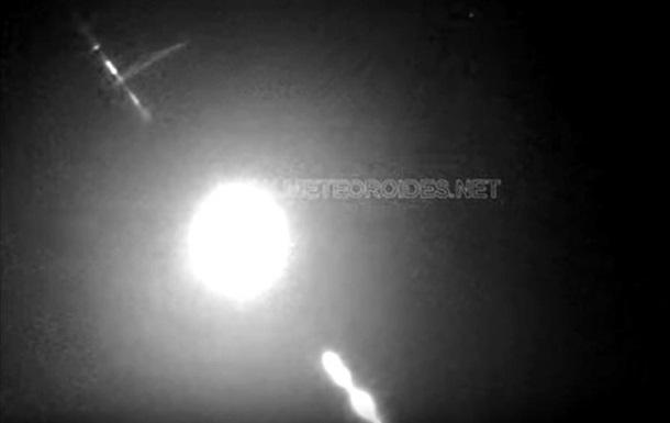 Камеры сняли первый метеор 2020 года