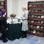 Книжная выставка ко дню рождения Жюля Верна