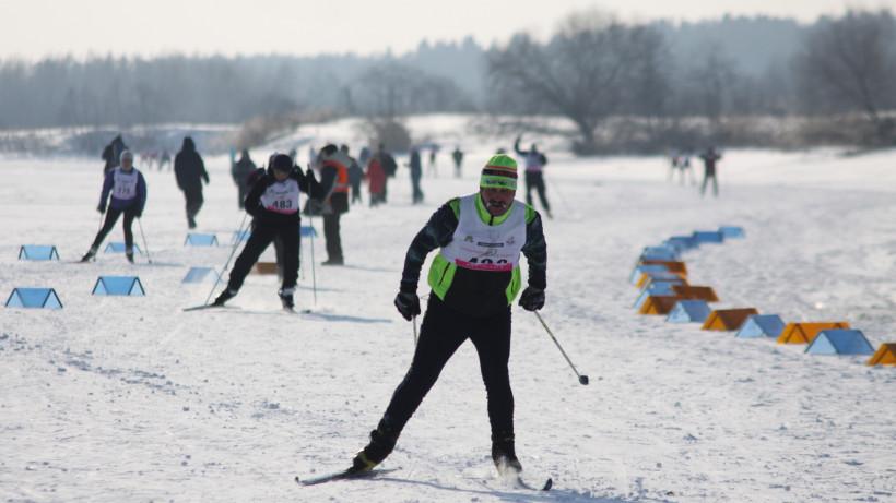 Лыжный марафон «Николов Перевоз» провели в Сергиево-Посадском округе