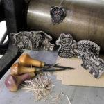 Мастер-класс «Печатные зверюшки»