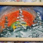 Мастер-класс «Зимний лес»