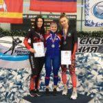 На всероссийских соревнованиях по конькобежному спорту подмосковные спортсмены завоевали два золота, серебро и бронзу