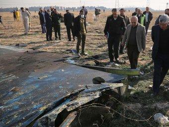 Опубликовано новое видео крушения украинского Boeing в Иране