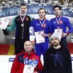 Подмосковные конькобежцы выиграли 9 медалей на кубке России