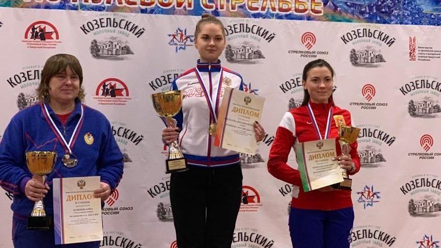 Подмосковные спортсменки завоевали 2 бронзовые медали на чемпионате России по стрельбе