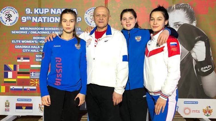 Подмосковные спортсменки завоевали 6 медалей на международном турнире по боксу