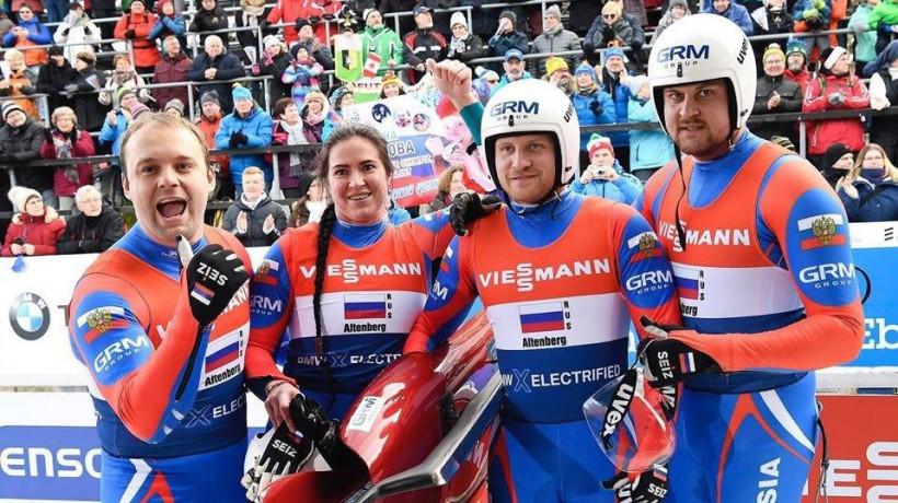 Подмосковный спортсмен одержал победу на этапе кубка мира по санному спорту