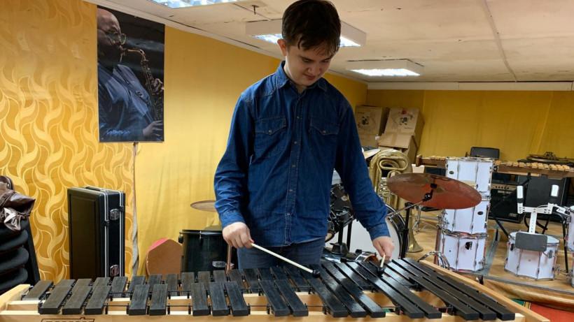 Ударный хроматический ксилофон
