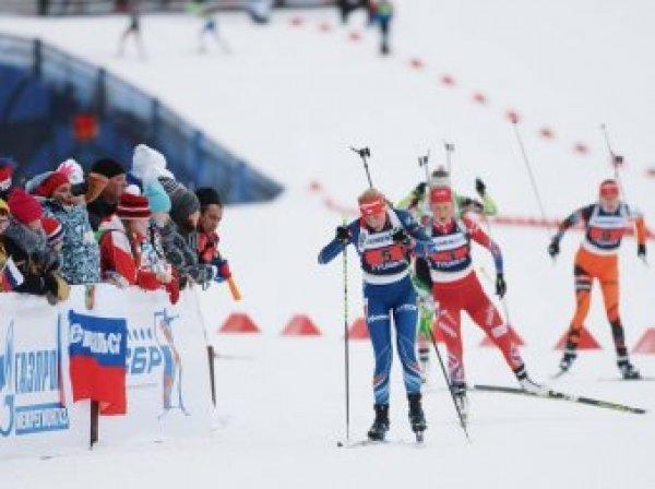 Россияне выступят в супермиксте по биатлону на этапе Кубка мира