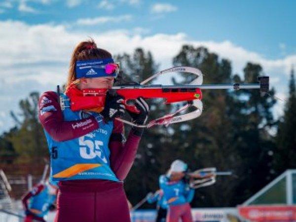 Россиянки выступят в гонке преследования на этапе КМ по биатлону