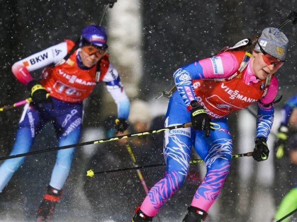 Россиянки выступят в эстафете на этапе Кубка мира по биатлону в Германии