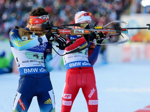 Российские биатлонисты выступят в индивидуальной гонке на этапе КМ