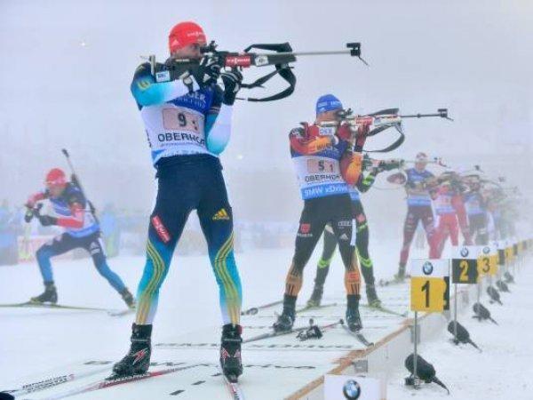 Российские биатлонисты выступят в эстафете