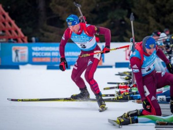 Российские биатлонисты выступят в масс-старте на этапе Кубка мира в Германии