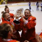 Российские хоккеистки завоевали «бронзу» Чемпионата мира среди команд девушек до 18 лет