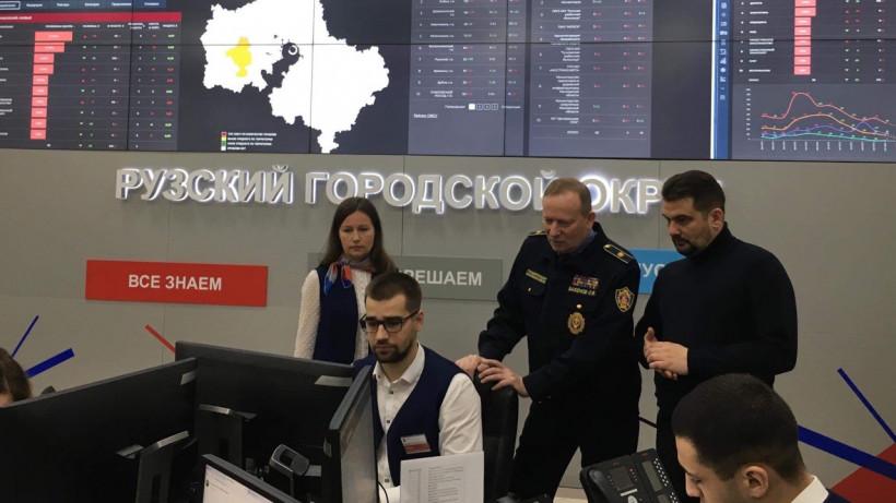 Руководитель Госадмтехнадзора Олег Баженов проинспектировал Рузский округ
