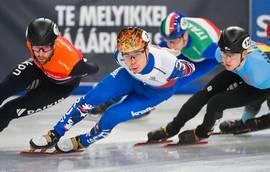 Сборная России по шорт-треку – третья в общекомандном зачёте Чемпионата Европы в Венгрии