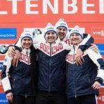 Сборная России стала победителем общекомандного зачёта Чемпионата Европы по санному спорту