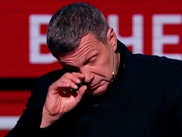 Соловьев заплакал в эфире из-за воспоминаний детства