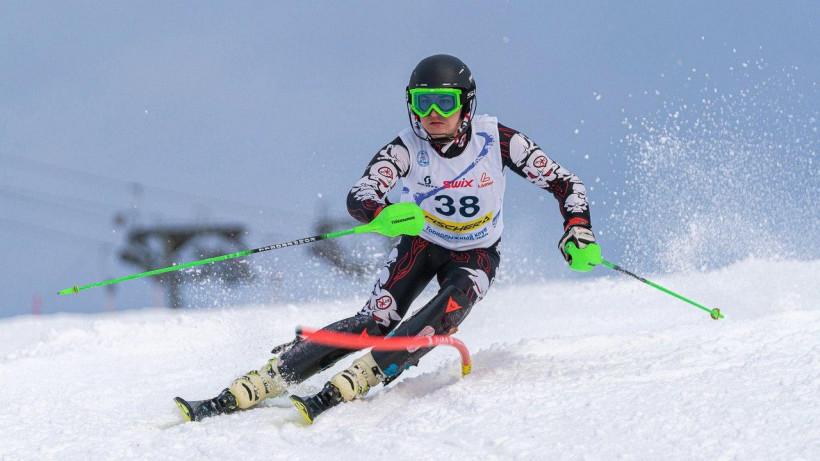 Соревнования по горнолыжному спорту прошли в Подмосковье