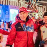 Спортивная студенческая ночь прошла на ГУМ-катке в Москве