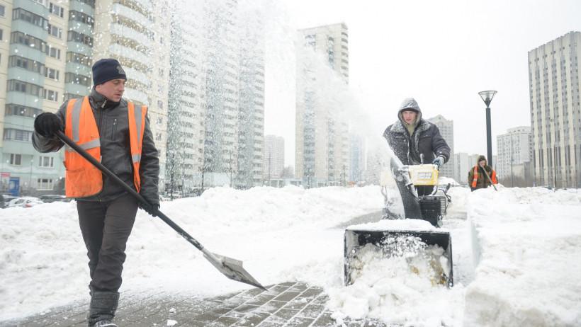 Стали известны лучшие округа Московской области по уборке в день снегопада