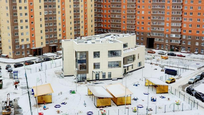Строительство детского сада на 80 мест завершили в Балашихе