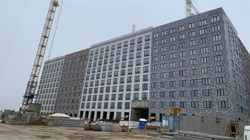 Строительство корпуса №5 в ЖК «Эко Видное 2.0» планируют завершить во 2 квартале 2020 года