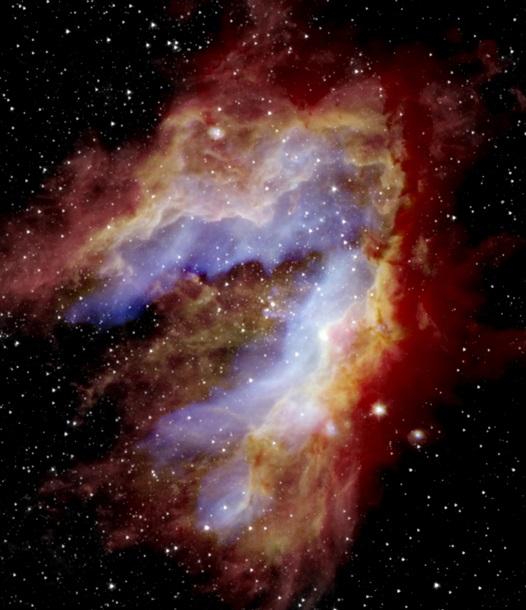 В NASA показали самое детальное фото туманности Лебедя