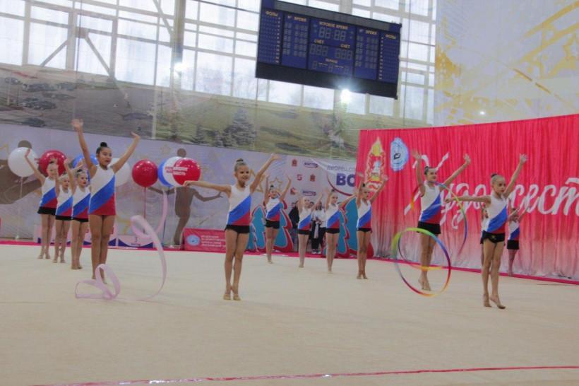 В Орехово-Зуево прошло первенство Центрального федерального округа по художественной гимнастике