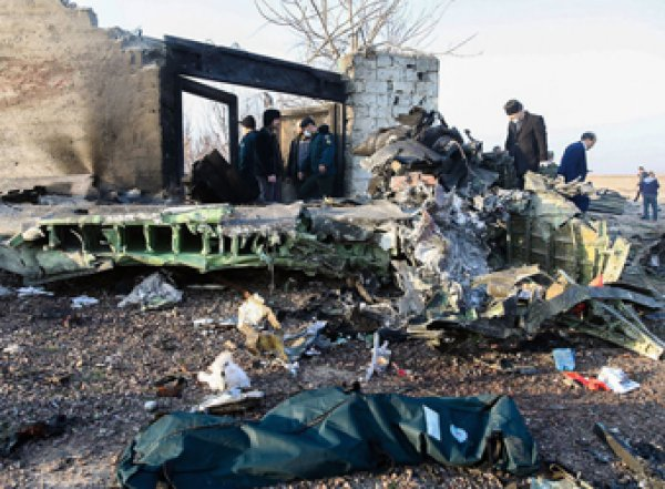 Зеленский обратился к нации после крушения украинского Боинга под Тегераном