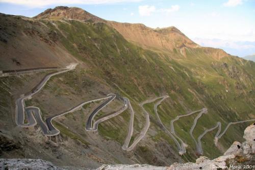 Перевал Стелвио, Итальянские Альпы