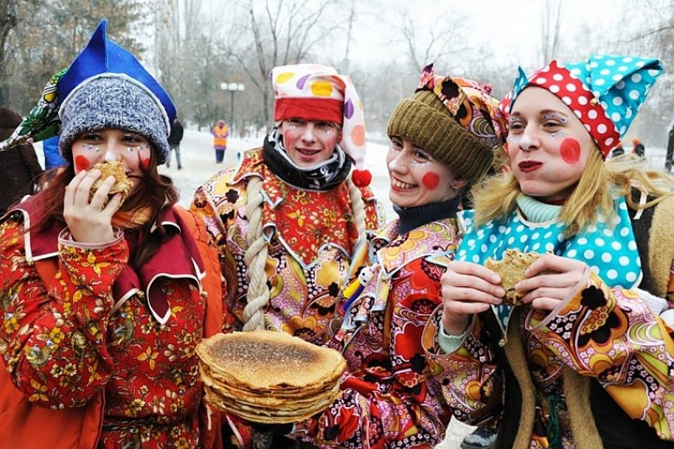 25 февраля 2020 года в России начинается Масленица