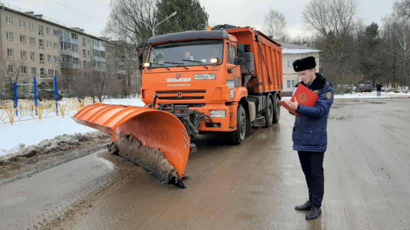 Более 300 нарушений правил зимней уборки устранили благодаря Госадмтехнадзору за неделю