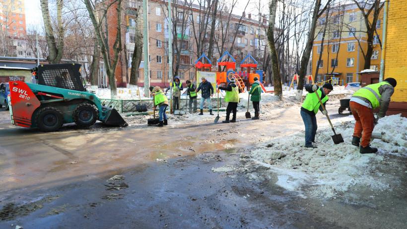 Более 300 нарушений правил зимней уборки устранили в Подмосковье за прошедшую неделю