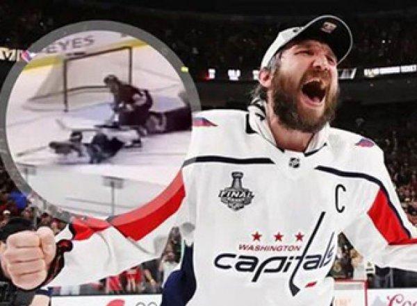 """Чудо-гол"" Овечкина признан лучшим в истории НХЛ"