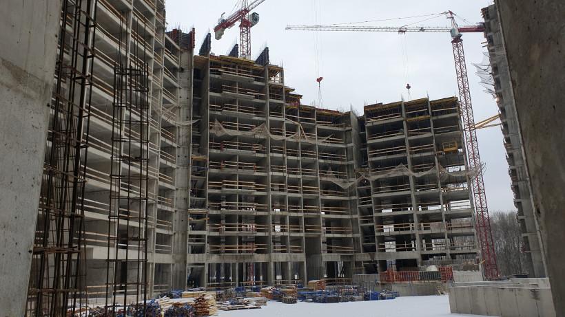 Два дома в ЖК «Датский квартал» планируют достроить в третьем квартале 2022 года