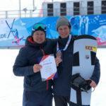 Евгений Генин – бронзовый призер первенства России по сноуборду