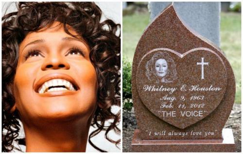Уитни Хьюстон Звезда при жизни получила много престижных титулов. Уитни Хьюстон признали самой коммерчески успешной исполнительницей. Тело суперзвезды покоится на кладбище города Уэтсфилда. Родные руководствовались желанием усопшей. При жизни Уитни Хьюстон неоднократно упоминала, что желает быть похороненной рядом с отцом Джоном Расселом Хьюстон с которым была близка.