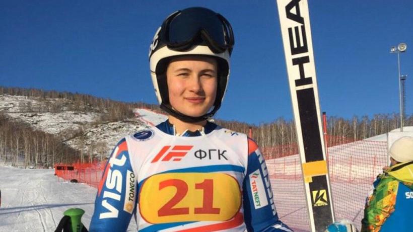 Горнолыжница из Подмосковья завоевала серебро Кубка России