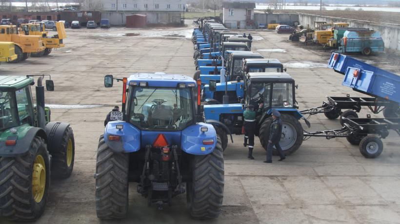 Готовность сельхозтехники к посевной кампании составляет 82% в Подмосковье