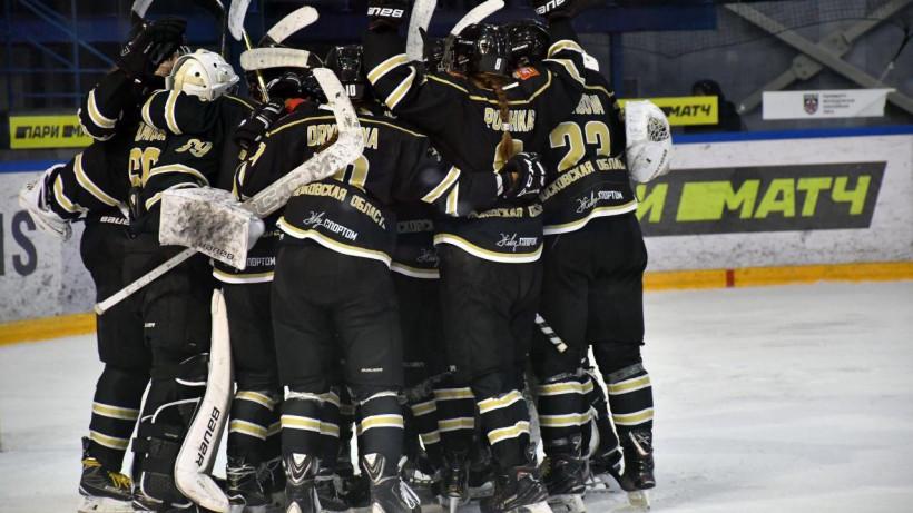 Хоккеистки подмосковного «Торнадо» пробились в плей-офф ЖХЛ