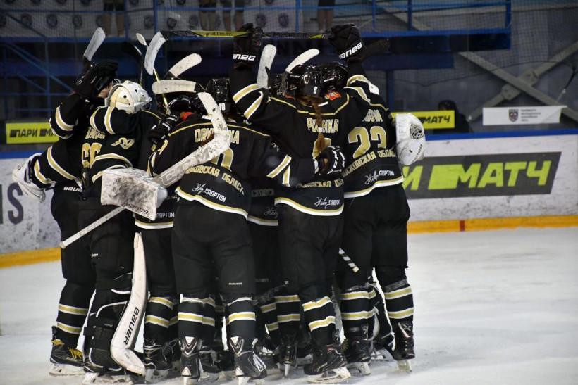 Хоккеистки «Торнадо» пробились в плей-офф ЖХЛ